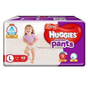 Huggies Diapers - Large Size, Wonder Pants, 48 pcs