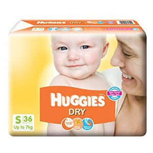 Huggies Diapers - Small Size, New Dry, 36 pcs