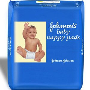 Johnson & Johnson Baby Nappy – Pads, 10 Pcs