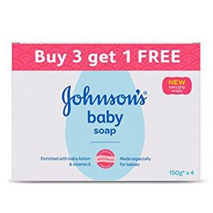 Johnson And Johnson Baby Soap 150 gm Buy 3 Get 1 Free