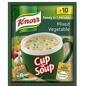 Knorr Instant Mixed Vegetable Cup-A-Soup, 11 gm