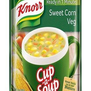 Knorr Instant Sweet Corn Cup-A-Soup, 10 gm