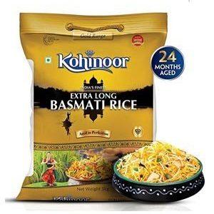 Kohinoor Basmati Rice - Extra Long, Gold, 5 kg