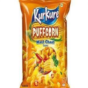 Kurkure Namkeen – Puffcorn, Mast Chaat, 15 gm