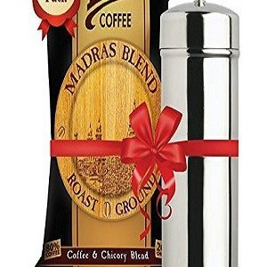 Leo Coffee Madras Blend Filter Coffee Powder 500 Grams And Stainless Steel Filter Combo Pack