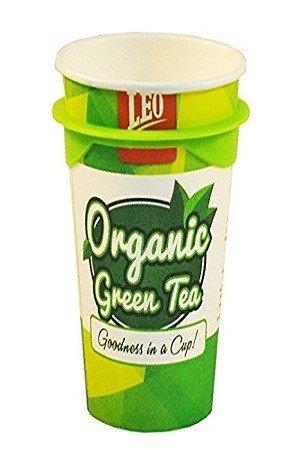 Leo Coffee Organic Green Tea Cup 120 Grams