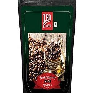 Leo Coffee Peaberry And Amp Special A Coffee Fresh Grinding 500 Grams