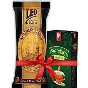 Leo Coffee And Tea combo Madras Blend 500 Grams Plus Premium Assam Tea 250 Grams