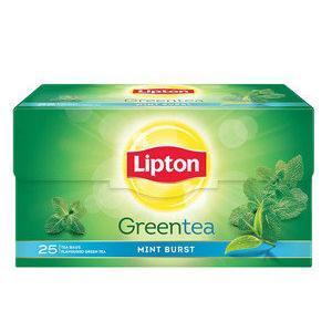 Lipton Green Tea - Mint Burst, 25 pcs