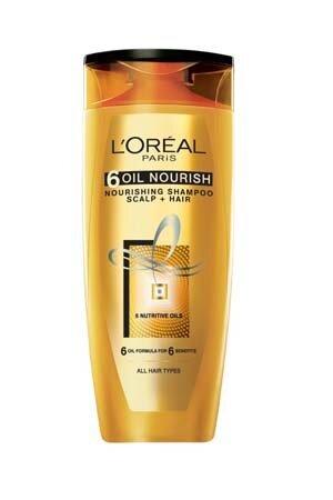 Loreal Paris 6 Oil Nourish Shampoo 175 Ml Bottle