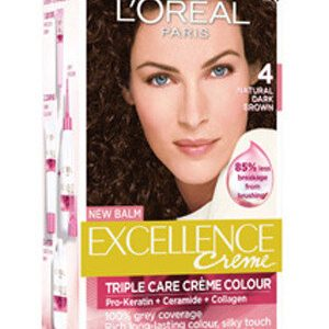 Loreal Paris Excellence Creme Natural Dark Brown 04 72 Ml 100 Grams