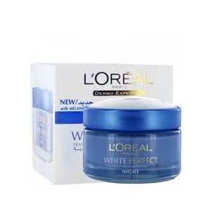 Loreal Paris Night Cream White Perfect 50 Ml Box