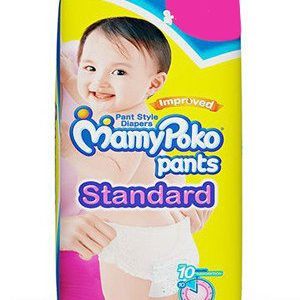 Mamy Poko Standard Pants – Large, 9-14 Kg, 34 pcs Pouch