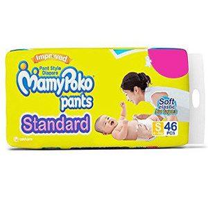 Mamy Poko Standard Pants – Small, 4-8 Kg, 46 pcs Pouch