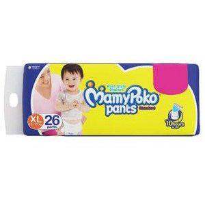 Mamypoko Pants Standard Diaper - XL, 26 pcs Pouch