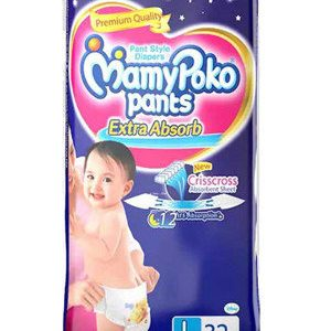 Mamypoko Pants Style Diapers - Large, 9-14 Kg, 32 pcs