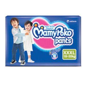 Mamy Poko Pants Style Diapers – Xxxl, 18-35 Kg, 7 pcs Pouch