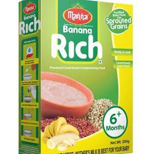 Manna Banana Rich 200 Grams