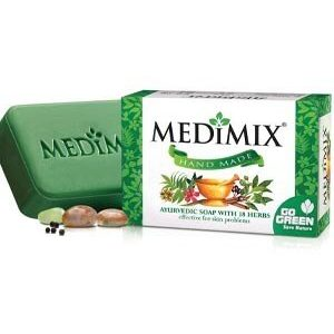 Medimix Bathing Soap Ayurvedic Soap With 18 Herbs 125 Grams Carton