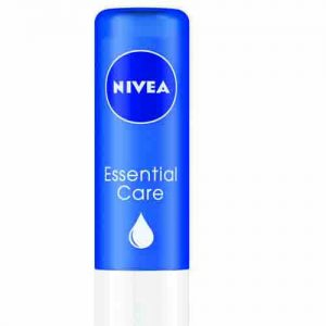 Nivea Essential Care Lip Moisturiser Jojoba Oil Shea Butter 4.8 Grams
