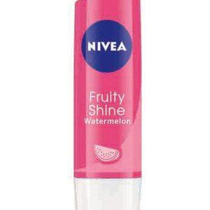 Nivea Fruity Shine Lip Balm Watermelon 4.8 Grams