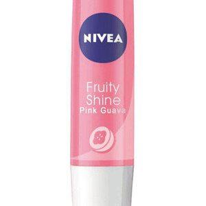Nivea Fruity Shine Lip Moisturiser Pink Guava 4.8 Grams