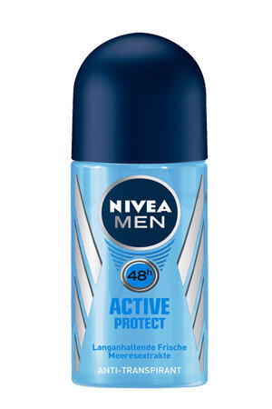 Nivea Roll On Fresh Active For Men 50 Ml Can
