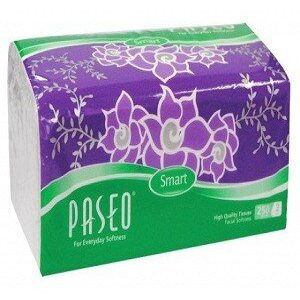 Paseo Smart For Everyday Softness Travel Pack Facial Tissues 220 Pulls X 2 Ply