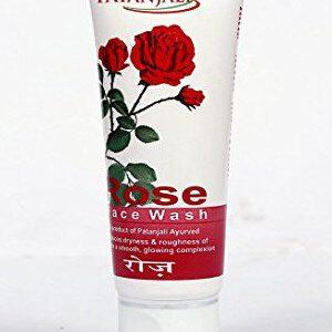 Patanjali Face Wash Rose 60 Ml