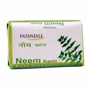 Patanjali Neem Kanti Body Cleanser 75 Grams Carton