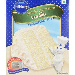 Pillsbury Cake Mix – Moist Supreme Vanilla, 225 gm Carton