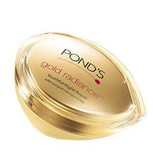 Ponds Gold Radiance Youthful Night Repair Cream 50 Grams Box