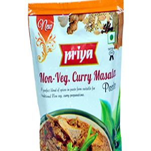 Priya Paste – Non Veg Curry Masala, 100 gm Pouch