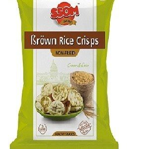 SSOM Brown Rice Crem And Onion Crispy 18 Grams