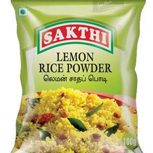 Sakthi Lemon Rice Powder 50 Grams