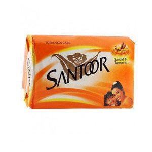 Santoor Bathing Soap Sandal Turmeric 100 Grams