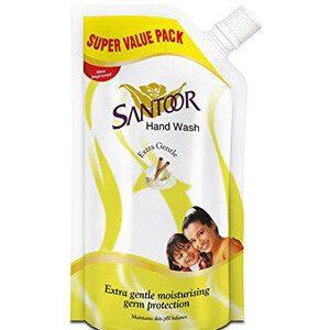 Santoor Hand Wash Extra Gentle 225 Ml