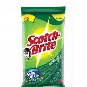 Scotch brite Scrub Pad Small, 7.5 cm X 7.5 cm