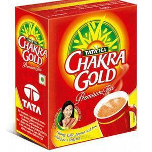 Tata Tea Chakra Gold Premium Tea Dust 100 Grams Carton