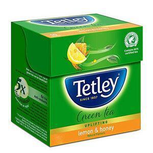 Tetley Green Tea Bags Lemon And Honey 10 Pcs Carton