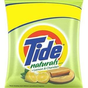 Tide Naturals Washing Detergent Powder - Lemon & Chandan, 800 gm Pouch