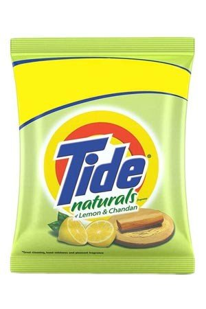 Tide Naturals Washing Detergent Powder - Lemon & Chandan, 800 gm Pouch
