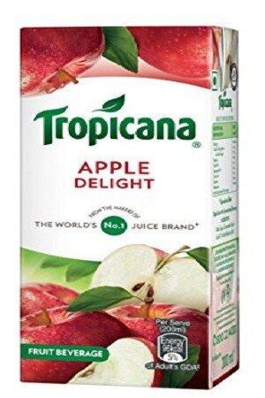 Tropicana Delight Fruit Juice Apple 200 Ml Tetra