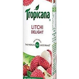Tropicana Delight Fruit Juice Litchi 200 Ml Tetra