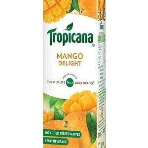 Tropicana Delight Fruit Juice Mango, 1000 Ml Tetra