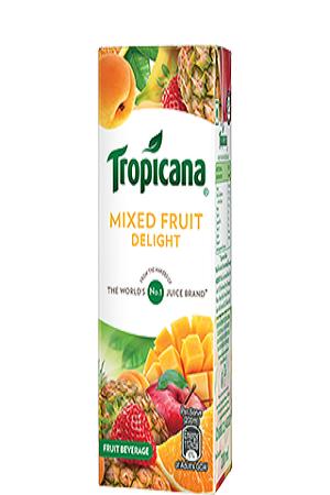 Tropicana Delight Fruit Juice Mixed Fruit 200 Ml Tetra