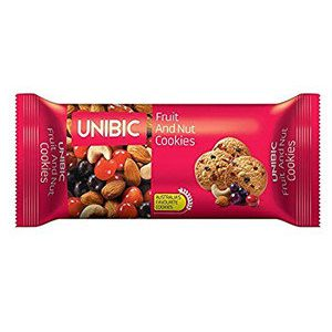 Unibic Cookies – Fruit & Nut, 75 gm Pouch