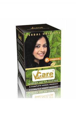 Vcare Herbal Hair Dye Brown 25 Ml