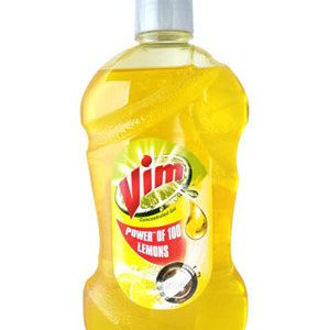 Vim Dishwash Gel – Lemon, 250 ml