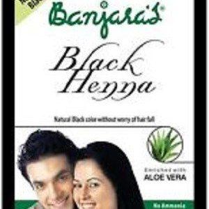Banjaras Aloe Vera Black Henna 60 Grams
